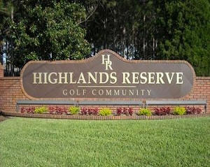 Highlands Reserve Golf and Country Club Community Florida