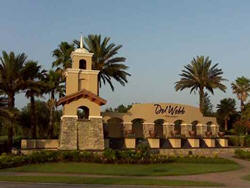 DelWebb Orlando Gated Entrance